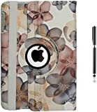 """iPad Mini Case for iPad Mini 3 Mini 2 Mini 1 ( 1st, 2nd, 3rd Generation ) 7.9"""" Retina display iPad Mini3 (2014 Oct Released), inShang 360 Degree Case Cover Stand with auto Sleep Wake function + inShang Logo High End Business Stylus Pen"""