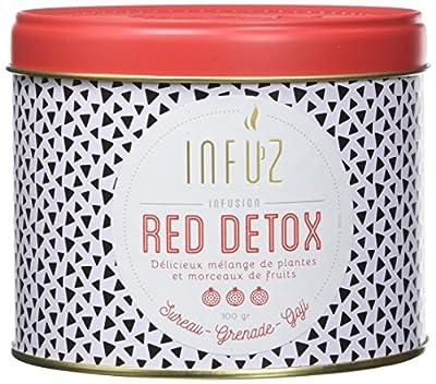 Infuz Red Détox Infusion 100 g - Lot de 3