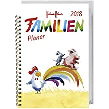 Helme Heine Familienplaner Buch A6 - Kalender 2018