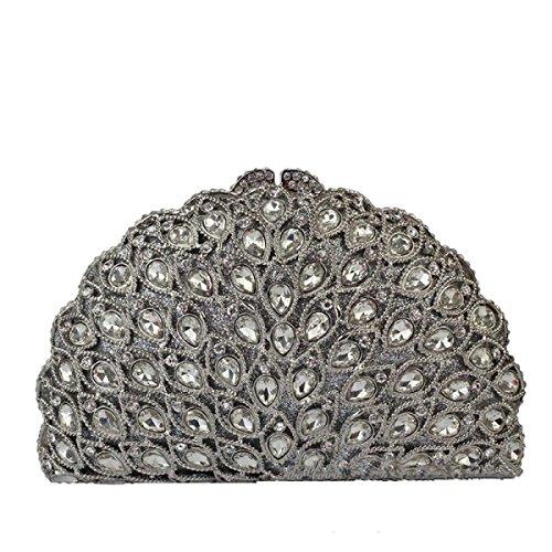 High Luxus Handtasche Abend Kupplung Kristall Frauen End Kupplung B qgwxAdTU
