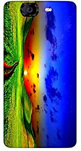 Timpax protective Armor Hard Bumper Back Case Cover. Multicolor printed on 3 Dimensional case with latest & finest graphic design art. Compatible with Micromax A350 Canvas Knight Design No : TDZ-27657