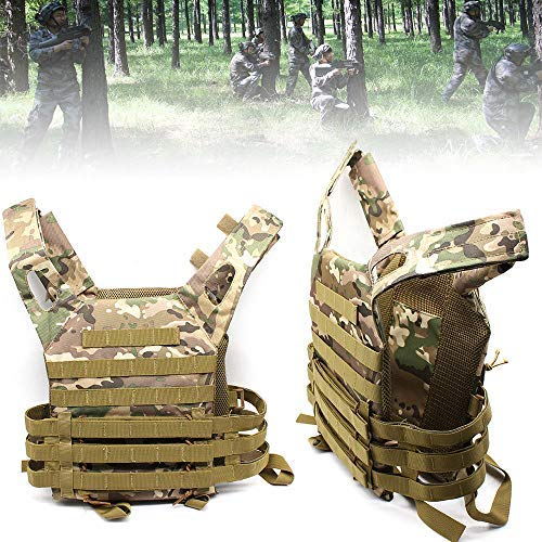 DiLiBee Condor MOPC Molle Modular Operator Plate Carrier Armor Chest Rig Vest Multicam Outdoor Jungle Game Protective Vest -