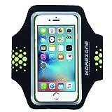 MOREZONE iPhone 6/6s/7 Handy Sportarmband Fitness Jogging Running Armband für Galaxy S7 S6 S5 Workout Laufen Arm band(geeignet für Handys unten 5.1 zolle)