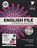 English File Intermediate. Plus Student's Book + Workbook With Key Pack - 3rd Edition (English File Third Edition)