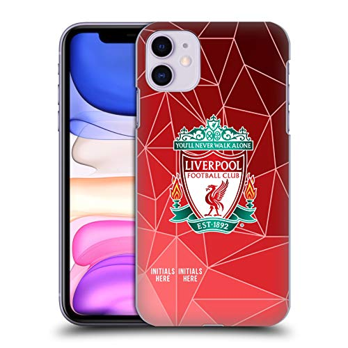 Head Case Designs Personalisierte Individuelle Liverpool Football Club Geometrisch 2018/19 Harte Rueckseiten Huelle kompatibel mit iPhone 11