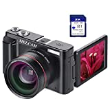 Digital Camera Video Camcorder, Full HD 1080P 24.0MP MELCAM Youtube Vlogging Camera