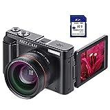 Videocamera Digitale FHD 1080p 24.0MP 30FPS, Videoregistrazione WiFi, con obiettivo grandangolare e...