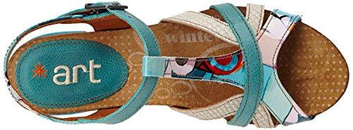 Art  I Feel 239,  Scarpe col tacco donna Multicolore (Multicolore (Geometric))