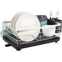 Nandae Support de séchage pour égouttoir à Vaisselle en Acier Inoxydable, Support de Rangement de comptoir de Cuisine…