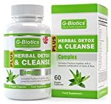 G-Biotics Herbal Detox & Cleanse Capsules ~ HIGH GRADE Supplement