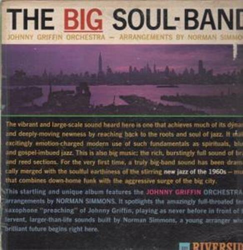 BIG SOUL BAND LP (VINYL) US RIVERSIDE 0 - Big 0