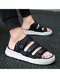 fankou rutschfeste Sommer Hausschuhe Badeschuhe Sandalen im Sommer und trendige Lounge sind cool und 41903-1...