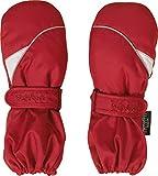 Playshoes Unisex Kinder Schnee Fäustlinge, Handschuhe und Skihandschuhe,Rot (Rot 8), Gr. 1 ( 12-24 Monate)
