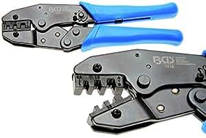 BGS 1419 Kabelschuhzange mit Ratschenfunktion 0,5-6 mm² offene unisolierte Kabelschuhe