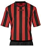 Masita Sporttrikot KA Bara -1517-, Farbe:schwarz/rotGröße:140