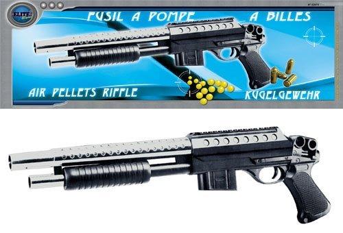 Nerd Clear Power Softair Pumpgun Gewehr, 0,08Joule