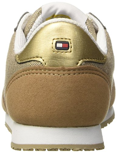 Tommy Hilfiger Mädchen J3285aimie 14c1 Niedrige Sneaker Gold (Gold 023)