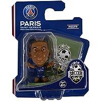SOCCERSTARZ - Home Kit 2018 Version Paris St Germain Kylian Mbappe Figurine, SOC1199