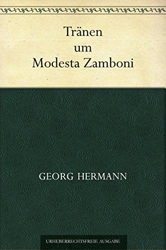 trnen-um-modesta-zamboni-german-edition