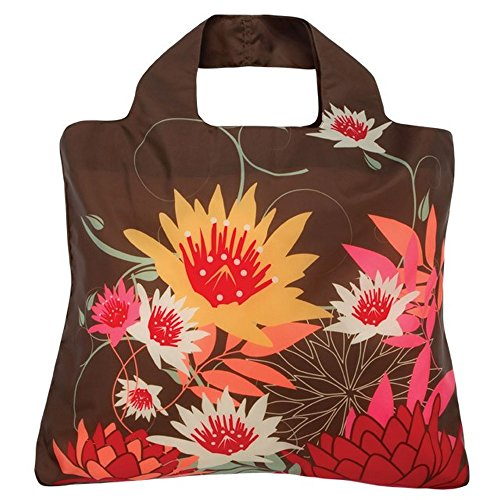 Envirosax Sac Shopping Rouleau jusqu'– Bloom Sac B.3 Marron Lotus