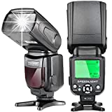Neewer E-TTL Flash Speedlite con LCD Display, Diffusore Duro e...
