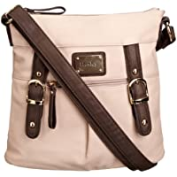 Henley Amy Cross Body Womens Bag (Beige)