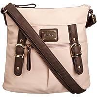 Henley Amy Cross Body Womens Bag (Beige)
