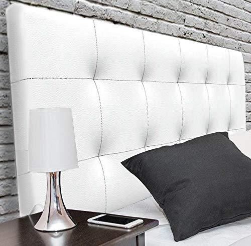 Suenoszzz - Cabecero Canada (Cama90) 100X57 Cms. Color Blanco.