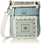 Desigual Women's BOLS_BANDOLERA Whitney Cross-Body Bag, Blue (5002), 1x30x25 cm (B ...