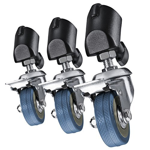 Walimex Pro tripod wheels set of 3 (for tripods with a leg diameter of 18-23 mm)
