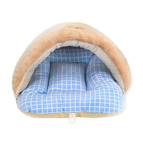 Là Ve stmon Haustierbett Kleine Hunde/Welpen Zwinger Sofa Fleece Material Cat Matte Dog Bed House Cat Schlafsack Nest -
