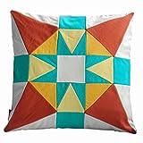 Platz Patchwork dekorative Kissen Sofa / Bett Kissen, Einsatz enthalten