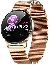AGUEST Smart Watch, Fitness Tracker Uhr IP67 Wasserdichter Aktivitäts-Tracker Pulsmesser/Blutdruckmessgerät Schrittzähler, Schlaf-Monitor für Damen Herren, IOS/Android