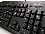 Arabische Tastatur USB Ultra-Slim Keyboard schwarz Microsoft® Wired Keyboard 200 (Arabisch - Englisch) QWERTY 104Key Schwarz USB