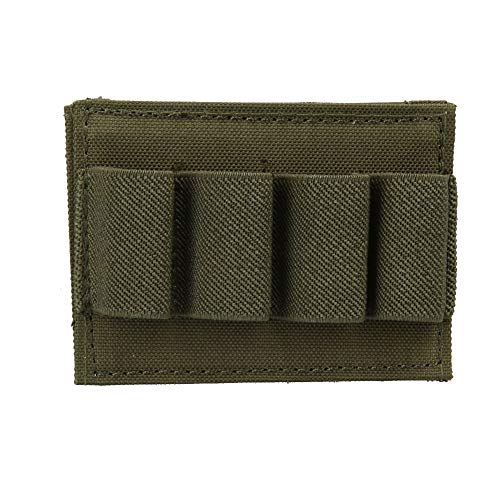 itary Molle Pouch Airsoft Hunting Stick Shotgun Shell Ammo Carry Holder ()