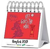 Denglisch 2019: Aufstellbarer Typo-Art Postkartenkalender. Jede Woche ein neuer Spruch. Hochwertiger Wochenkalender f�r den Schreibtisch Bild