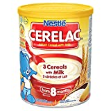 Nestle Cerelac 3 cereals with milk 400gm