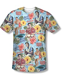 Elvis Presley - Mens Surf'S Up T-Shirt