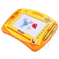 Arshiner Magnetic Drawing Board,Colorful Erasable Large Size Doodle Sketch Board