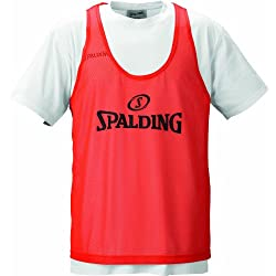 Spalding - Camisa de baloncesto, color naranja, talla M