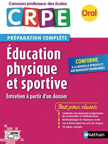 Education physique et sportive - CRPE 2017 - Prparation  l'preuve orale