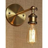 DALIU-Lampade a candela da parete Lampadina inclusa Rustico/lodge Metallo , yellow-220v