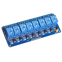 Eight Channel Relay Arduino model with light coupling
