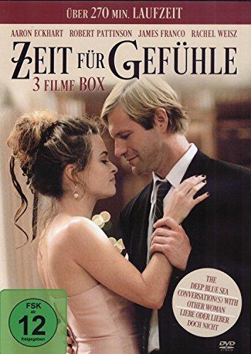 Bild von 3er Box ZEIT FÜR GEFÜHLE - The Deep Blue Sea + Conversation(s) With Other Woman + Liebe oder lieber doch nicht DVD