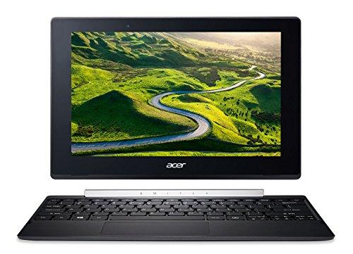 "Tablette Internet - Acer Aspire Switch 10 SW5-017-17BU - Tablette Internet - Intel Atom x5-Z8350 4 Go eMMC 64 Go 10.1"" LED Tactile Wi-Fi AC/Bluetooth Webcam Windows 10 Famille 64 bits"