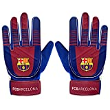 FC Barcelona - Keepershandschoenen voor kids - Officeel - Clubcadeau - Blauw - Jongens: 5-10 jaar