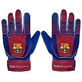 FC Barcelona - Torwarthandschuhe für Kinder/Jugendliche - Offizielles Merchandise - Geschenk für Fußballfans - Jungen: 5-10Jahre