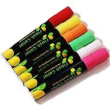 fluoreszierende Kreidemarker Stifte für Tafelfenster LED Glas grün
