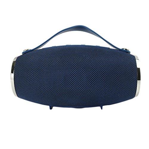 Junecat Bewegliche drahtlose Bluetooth-Lautsprecher HD Sound Unabhängige Bass Subwoofer FM Radio USB/TF/Audio-Eingang