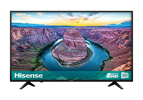 Hisense H65AE6100UK 65-Inch 4K Ultra HD HDR Smart TV with Freeview Play - Black (2018 Model) (Refurbished)